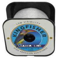 Kingfisher nylon leader line 100m 19.9kg .60mm