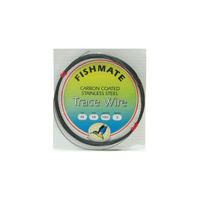 Fish Mate carbon coated wire 10m 15lb