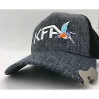 KFA cap with bottle opener - dark grey heather