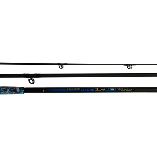 Poseidon Azure rod ,14ft,  Light spin, 1-3oz